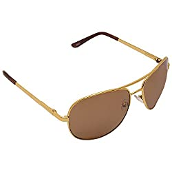 HERDY Brown Colored Aviator