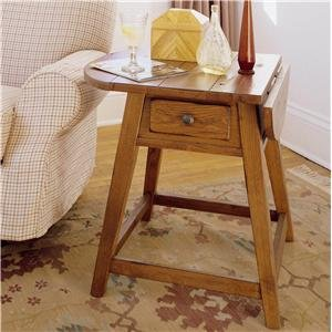 Cheap Attic Heirlooms Splay Leg End Table in Natural Oak – Broyhill 3397-05S (B005LWOM1K)