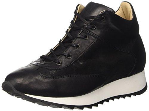 AMALFI BY RANGONI Domenica, Sneaker a Collo Alto Donna, Nero, 36.5 EU