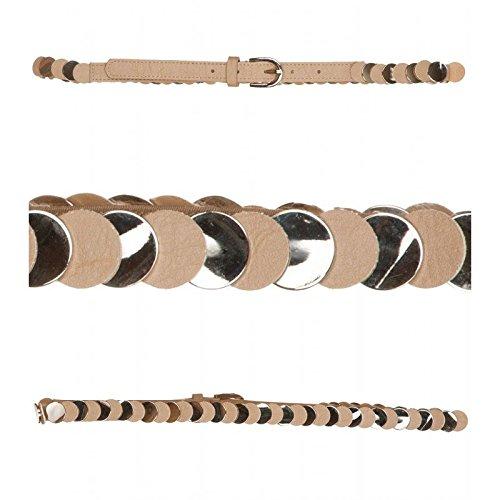 Cintura elasticizzata BEIGE