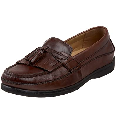 Dockers Men's Sinclair Kiltie Loafer,Antique Brown,7 M US