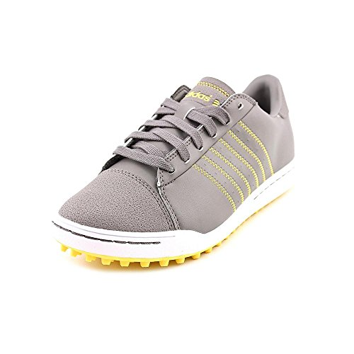 Adidas 2013 Junior Adicross Spikeless Golf Shoes Iron-White-Sun 5 Medium front-1072499