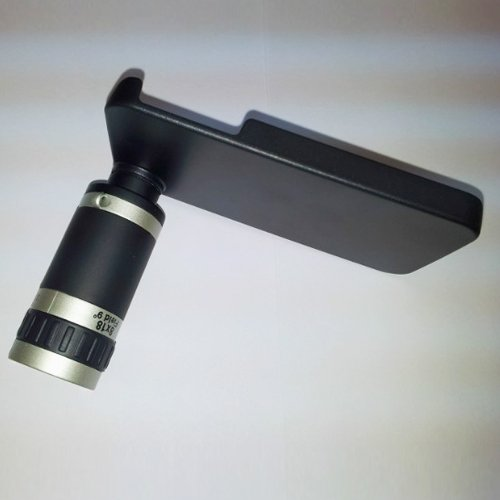 Wantmall 6X Optical Zoom Lens Telescope With Case For Iphone 4 4S