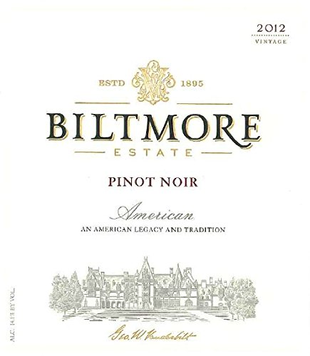 2012 Biltmore Pinot Noir 750 Ml