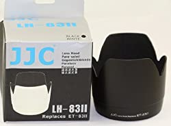 JJC Lens Hood ET-83II For Canon EF 70-200mm 2.8 BLACK