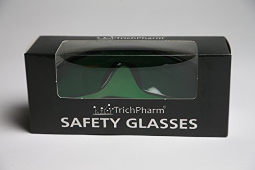 Grow Room Glasses, New, LED Safety Glasses, Color Correcting Goggles, FREE TrichPharm Neoprene Sun Glasses Strap, Protective Eyewear, Indoor LED Grow Rooms, Hydroponics, Grow Tent (Gorilla Box Fan compare prices)