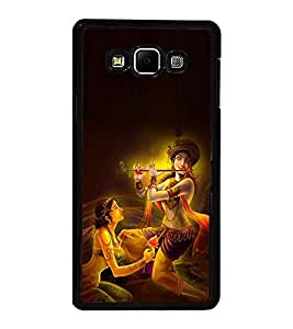 Fuson Premium 2D Back Case Cover Lord RadhaKrishna With Multi Background Degined For Samsung Galaxy A7::Samsung Galaxy A7 A700F