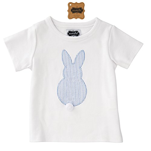 Mud Pie Easter Baby Boy Easter Bunny T-Shirt (Medium (24 Months- 2T/3T)) (Mud Pie Easter Size 3t compare prices)