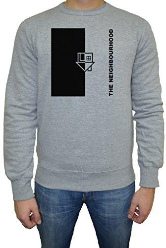 The Neighbourhood I Love You Uomo Felpa Maglione Pullover Grigio Tutti Dimensioni | Men's Sweatshirt Jumper Pullover Grey