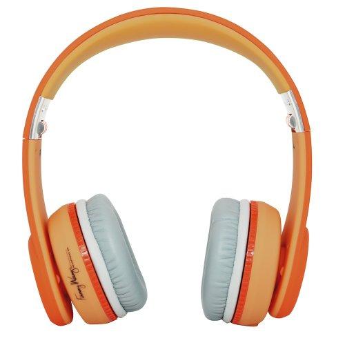 Fanny Wang 1000Series On Ear Wangs オレンジ FW-1003-ORNの写真02。おしゃれなヘッドホンをおすすめ-HEADMAN(ヘッドマン)-