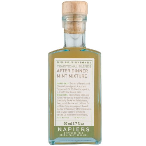 Napiers Vintage After Dinner Mint Mixture Digestif 50ml