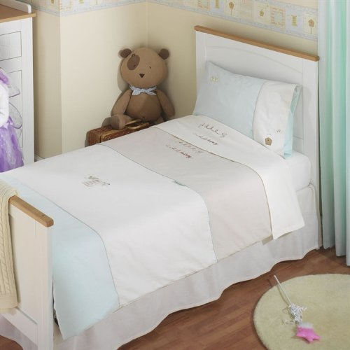 Izziwotnot Lullaby Cot Bed Duvet Cover & Pillowcase