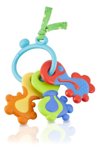 Nuby Teether Keys On a Ring - 1