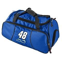 Nascar Jimmie Johnson Athletic Duffel Bag by Logo