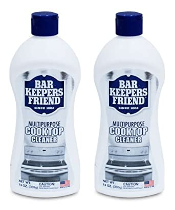 2 pack bar keepers friend ceramic glass cooking surfaces soft liquid cleaner. Black Bedroom Furniture Sets. Home Design Ideas