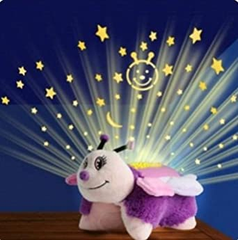 Animal Pillow That Lights Up : Animal Pillow Baby Sleeping Star Dream Night Light Mini Projector Color:3 - - Amazon.com