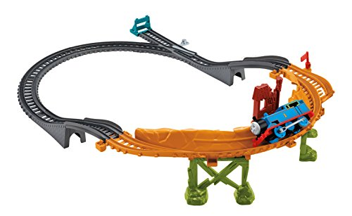 Il Trenino Thomas CDB59 - Fisher Price Pista La Sfida su Due Ruote