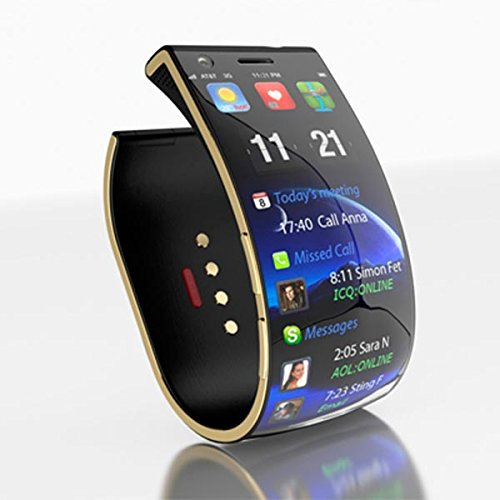 Apple iPhone 3G Compatible and Certified Bluetooth Smart Watch with SIM Card Slot And NFC Cell Phone Watch Phone Remote Camera ( Get Mobile Charging Cable worth Rs 239 FREE & 180 days Replacement Warranty )