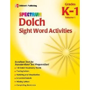 SPECTRUM DOLCH SIGHT WORD VOL. 1 - 1