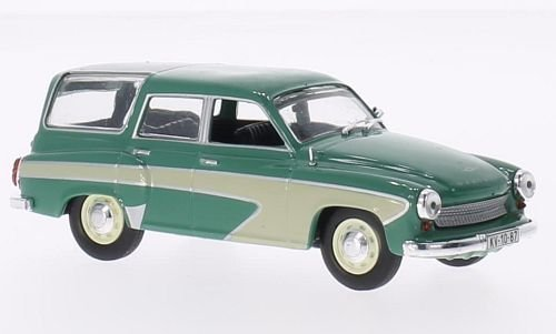Wartburg-311-Camping-grnbeige-1960-Modellauto-Fertigmodell-SpecialC-78-143