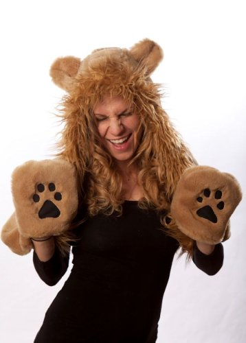 93633386bb4 Hats   Womp-A-Wear Womp-A-Wear Faux Fur Lion Hat. One Size. Caramel.