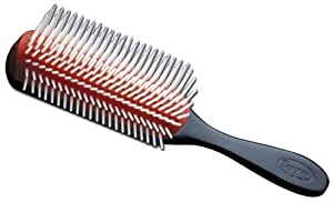 Denman Cushion Brush Nylon Bristles, 9-Row