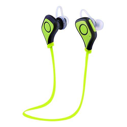 Ecandy(イケンディ)S5ワイヤレスBluetooth4.0スポーツイヤフォンマイク付き防汗/ランニング/ジム/エクササイズ (緑色)