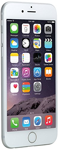 Apple discount duty free Apple iPhone 6 16GB Factory Unlocked GSM 4G LTE Smartphone, Silver (Certified Refurbished)