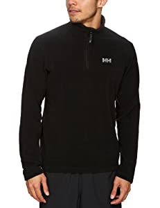 Helly Hansen Men's Daybreaker 1/2 Zip Fleece - Black, Small