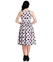 Hell Bunny 50's Scottie Dog Check Dress