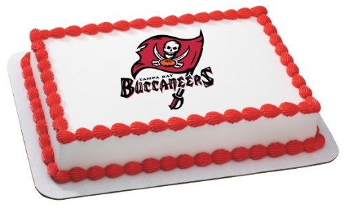 NFL Tampa Bay Buccaneers ~ Edible Cake Image Topper