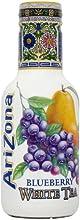 AriZona - Blueberry White Tea - 500ml Pack of 6