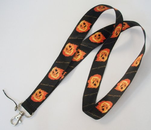 The Hunger Games Black Color Lanyard Keychain
