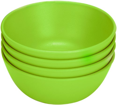 Green Eats 4 Pack Snack Bowl, Green
