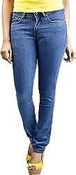 Scilla Women's Skinny Jeans (AR0003, Blue )