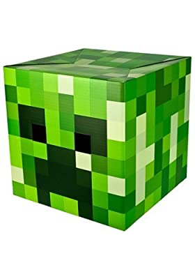 Minecraft Creeper Cardboard Head from Spin Master