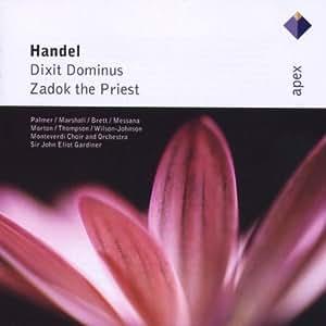 Haendel : Dixit Dominus, Zadok the Priest
