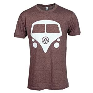 VW MINI BUS TSHIRT- BROWN-size: Large by vw