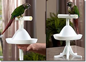 The Percher Portable Training Bird Perch