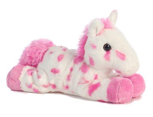 "Lady Pink Appoloosa Mini Flopsie 8"" by Aurora - 1"