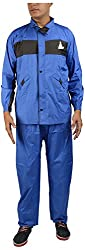 AASHI Men's Raincoats (JMS-412_XL, Blue, X-Large)