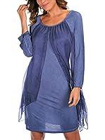 Special Silk by Bleu Marine Vestido Kylia (Azul)
