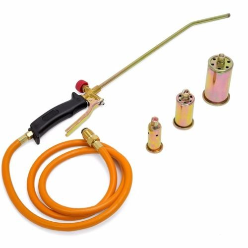 Portable Propane Weed Torch Burner Fire Starter Ice Melter Melting w Nozzles (Propane Torch Starter compare prices)