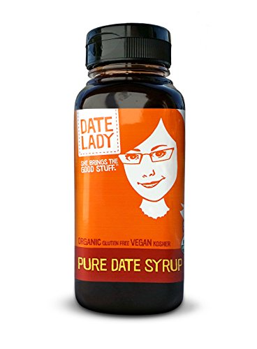 Date Lady Organic Date Syrup in a Squeeze Bottle
