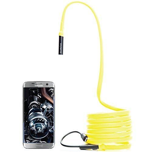 GiraffeCam-20-Rigid-Flexible-Endoscope-Borescope-Inspection-Camera-Android-PC-Mac-20-MP-HD-65-Feet