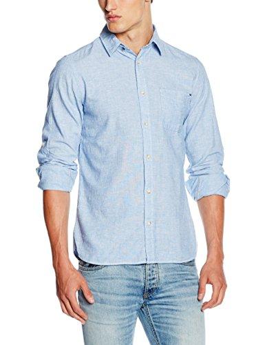 Jack & Jones Rupert, Camicia Formale Uomo, Blu (Federal Blue), Medium
