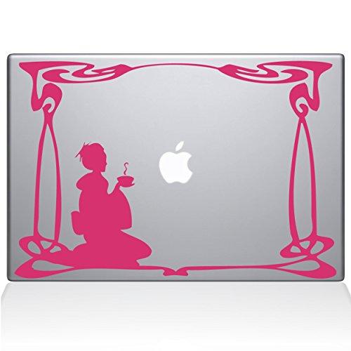 "Green Tea 11"" Macbook Air Bubble Gum Decal Sticker"