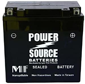 1998-2011 Polaris Ranger 6x6, 4x4 ATV High Performance Sealed Battery