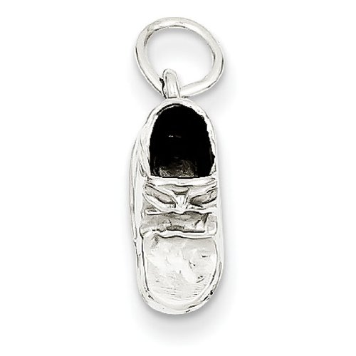 Gold Baby Shoe Charm