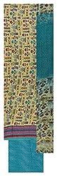 Punjaban Boutique Women's Cotton Unstitched Dress Material (Multi-Coloured)